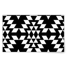 aztec pattern black and white - Google Search