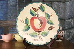 Hey, I found this really awesome Etsy listing at https://www.etsy.com/listing/129901678/12-chop-plate-round-platter-apple