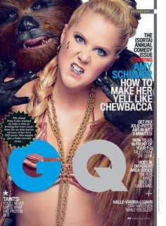 Amy Schumer Rewrote Her 'Star Wars'-Themed GQ Cover And Now It's Perfect
