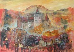 """Brun, Romania"" Oil on canvas. Size 50*70cm"