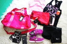 Cute workout gear is always fun and inspiring