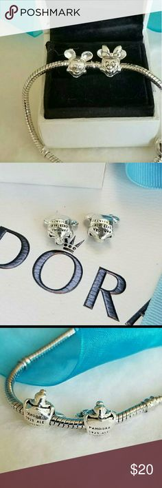 Pandora Disney charms Pandora Disney charms comes with dust  No box included or bracelet Pandora Jewelry Bracelets