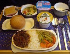 Saudi Airlines meal