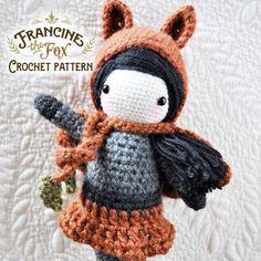 (4) Name: 'Crocheting : Francine the Fox - Crochet Pattern