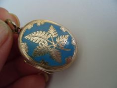 lovely old locket. Absolutely beautiful.