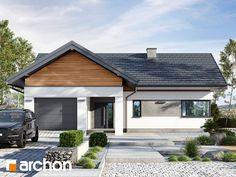 Dom w błękitkach Bud, Garage Doors, Outdoor Decor, House, Home Decor, Homemade Home Decor, Haus, Interior Design, Home Interiors