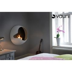 Vauni Cupola bio fireplace @ inamus.com - The biggest fireplace catalog in the world. #fireplace