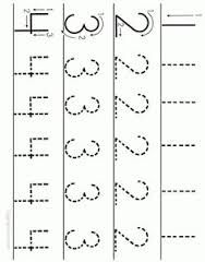 number work sheets