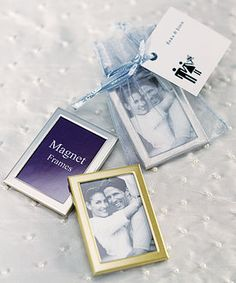 Magnet Back Mini Photo Frames  find it at specialtyribbon.com