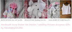 Vet Clinic Decor Nurse Doctors Gift White Bunny http://etsy.me/2cD2fUH #NurseLife #nurseproblems #veterinary #Weddingfavor #Wedding #Nursery #whiteelephant #dentist #alternativemedicine #massage #therapist  More Handmade soft toys or Home Decor with #White http://etsy.me/2cvptP3