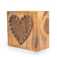 Taco de madera CORAZON — Pura House