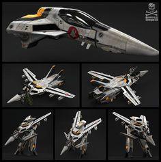 Macross VF-1S by Siregar3D