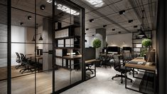 Office for engineering firm on Behance