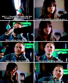"""She shakes. But you're not doing anything. That's why it's funny."" 