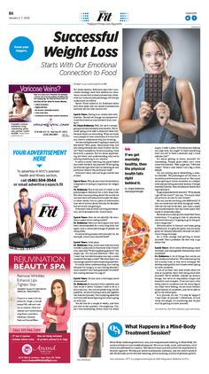 Successful Weight Loss Starts With Our Emotional Connection to Food|Epoch Times #Health #newspaper #editorialdesign