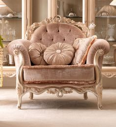 Luxurious Designer Italian armchair