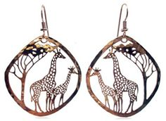 These Giraffe earrings are just one of our new arrivals. Made in the USA. We think you'll love them as much as we do.