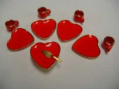 Red Heart Desert Set