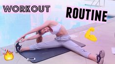 MODEL WORKOUT ROUTINE 2016💪 // +How-To Easy Moves! | Anna Jane Jackson