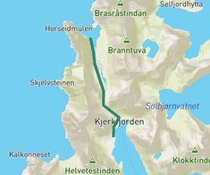 Familietur fra Kjerkfjorden til Horseid (Horseid strand. Tips fra Frode & Marita)