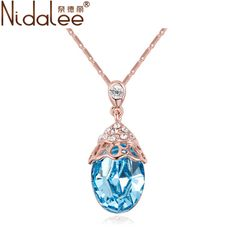Find More Pendant Necklaces Information about 2016 Water Droplets Crystal Pendant Crystal From Swarovski Necklace Pendants For Women Party Jewelry Accessories (NidaleeCN1615),High Quality pendant cabochon,China pendant tiger Suppliers, Cheap pendant supplier from NIDALEE JEWELRY Co., Ltd. on Aliexpress.com