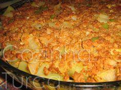Cozinha Turca: Moussaka de Beringela (Patlıcan Musakka)                                                                                                                                                                                 Mais