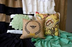 Design your own curtains and pillows with this online sewing course!