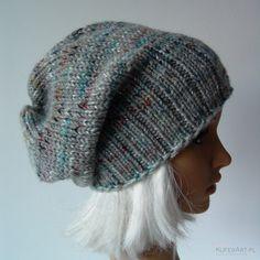 Boho krasnal, zimowa czapka