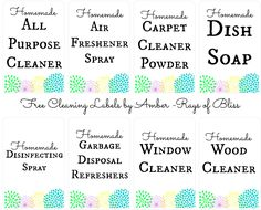 Start saving money and clean your home safely with essential oils and natural ingredients! DIY Cleaning Recipes - No toxic chemicals needed!