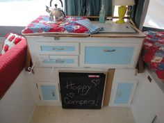 pop up camper interiors | Pop up camper interior modification~~ideas ... | Camping - My Style!