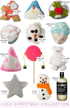LUSH Christmas Collection 2014, lush christmas 2014