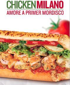 Sandwich Chicken Milano