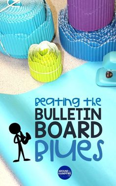 Hanging bulletin boards can be a real chore. These smart ideas and teacher hacks will help you get your back to school bulletin boards up right the first time and beat those bulletin board blues! Back To School Bulletin Boards, Classroom Bulletin Boards, School Classroom, Classroom Decor, Classroom Hacks, Classroom Design, Classroom Resources, First Year Teachers, New Teachers