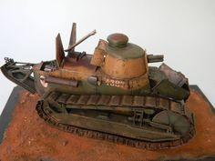 Renault Ft 17 Light Tank Meng 1/35