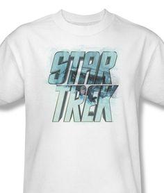 95fd5ae54 Star Trek Science Fiction TV Series 60's 70's Captain Kirk Spock CBS479 - T- Shirts