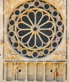 Il Rosone del duomo di Spoleto, Santa Maria Assunta, Provincia di Perugia, Umbria - Italy