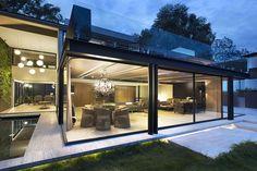 Modern Steel Homes Inspiring Ideas Glass And Steel Home | Modern House Designs