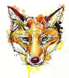 Red Fox: A new painting I just completed!