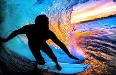 Surfin the Rainbows! #lifesabeach #beach