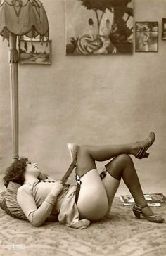 Stockings & garter belts have come a long way ladies, so we say; enjoy the beauty and quality!