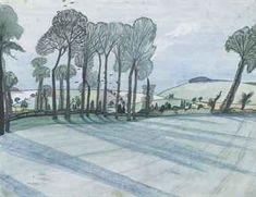 """Spring Landscape"" by John Nash British Artist, Landscape Sketch, Landscape Paintings, Landscape Artist, Painting, British Art, Art, English Artists, Landscape Art"