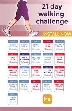 ‎BetterMe: Walking & Weightloss You need just 21 days to make the body absolutely fit! The walking plan will help you to create the perfect body in 1 month! Walking Challenge below makes your dream come true! Walking Challenge, Walking Plan, 30 Day Workout Challenge, Weight Loss Challenge, Weight Loss Plans, Squat Challenge, Health Challenge, Weight Loss Exercise Plan, 1 Month Workout Plan