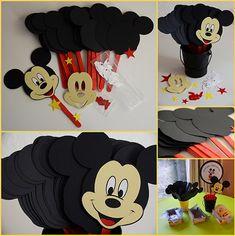 manualidades de mickey mouse para hacer con los niños