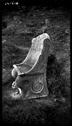Amphiareum. Theatre; chair.         Oropos   Attica     1924    Dorothy Burr Thompson