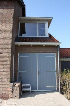 extension - annex - dormer -renovation - exterior - wood - brick - grey -  white - details - By Studio 2 stripeS, the Netherlands