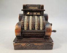 Vintage Cash Register Pencil Sharpener $9 by ThriftHorseInc on Etsy