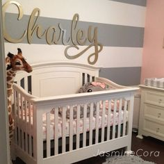 You can view the full tour of my daughters nursery on my YouTube channel!
