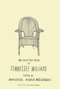 The Book Cover Archive: The Collected Poems of Tennessee Williams, design by Brian Rea