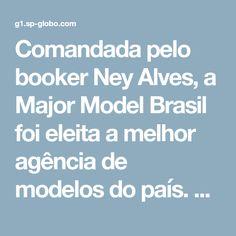 Comandada pelo booker Ney Alves, a Major Model Brasil foi eleita a melhor agência de modelos do país. Em seu casting, até mesmo modelos iniciantes já participaram de trabalhos para grandes marcas internacionais. A Major Model Brasil...