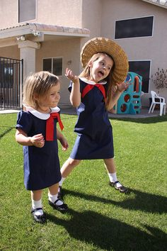 In an old house in paris that was covered with vines lived twelve little girls in two straight lines, they left the house, at half past nine...the smallest one was Madeline. :)